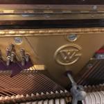 ウィスタリア アップライトピアノ