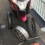 通勤バイク 自分でタイヤ交換