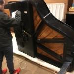 カワイ グランドピアノ開梱 RX2入荷致しました。