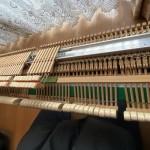 アップライトピアノ バットスプリングコード交換