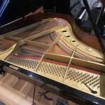 グランドピアノ2台 オーバホール開始